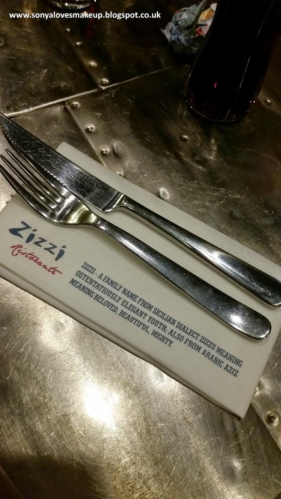 Zizzi Ristorante, Romford, Essex, Italian food,