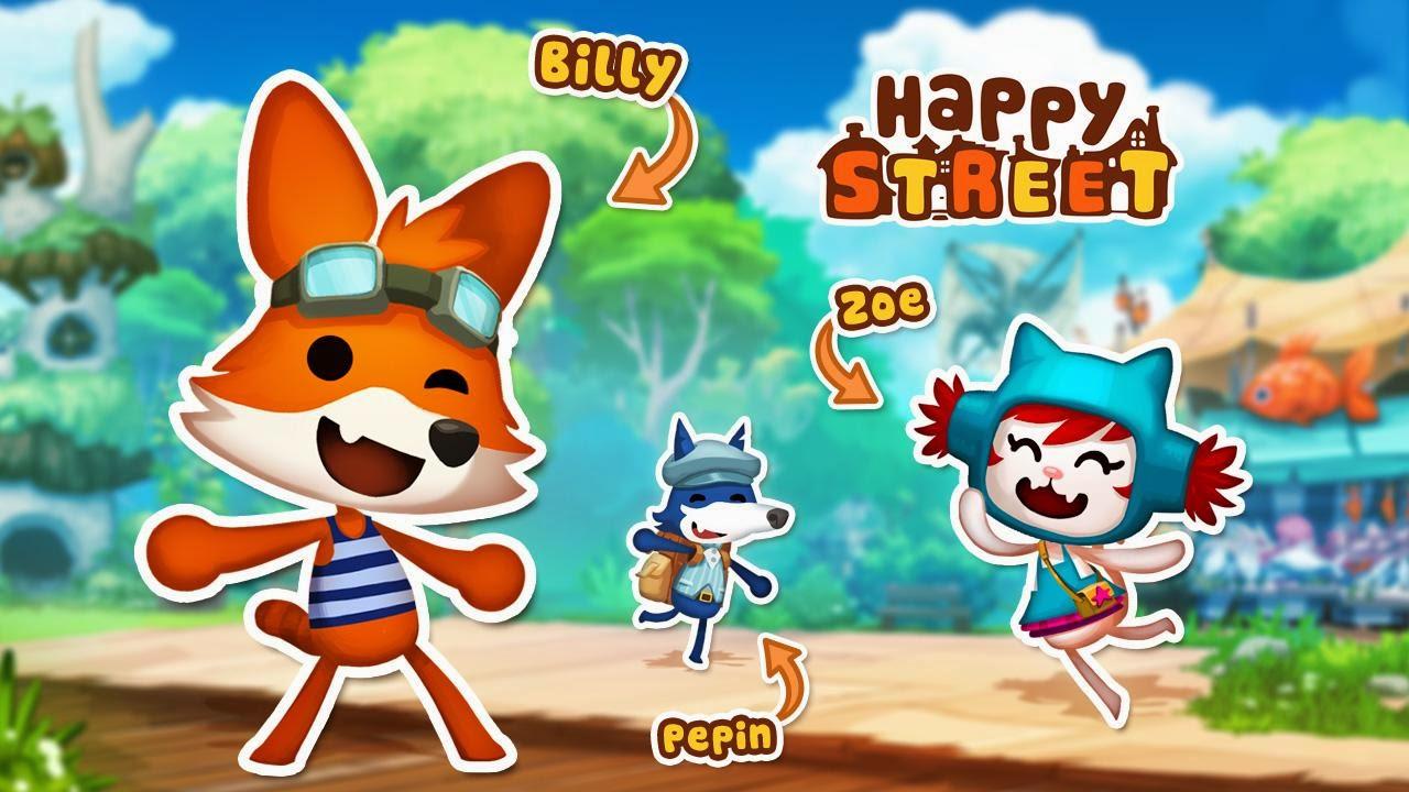 Free Download Game Happy Street .APK Full Data