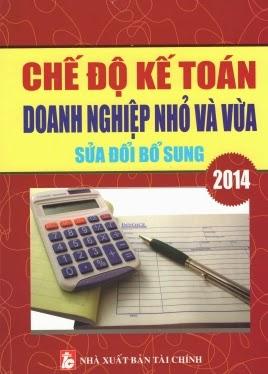 chế độ kế toán doanh nghiệp nhỏ và vừa năm 2014