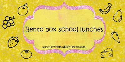 bento box school lunches