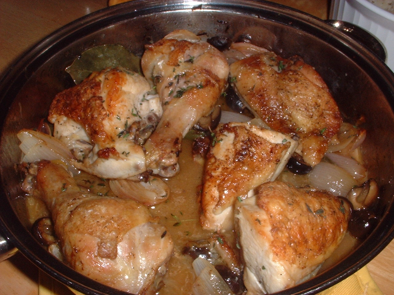 Pan-Roasted Chicken with Olives and Lemon from Fine ...