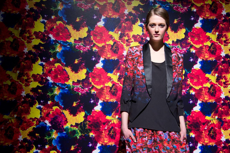 Sarah-Stevenson-For-Target-Canada, Spring-Blazer, Red-and-Black