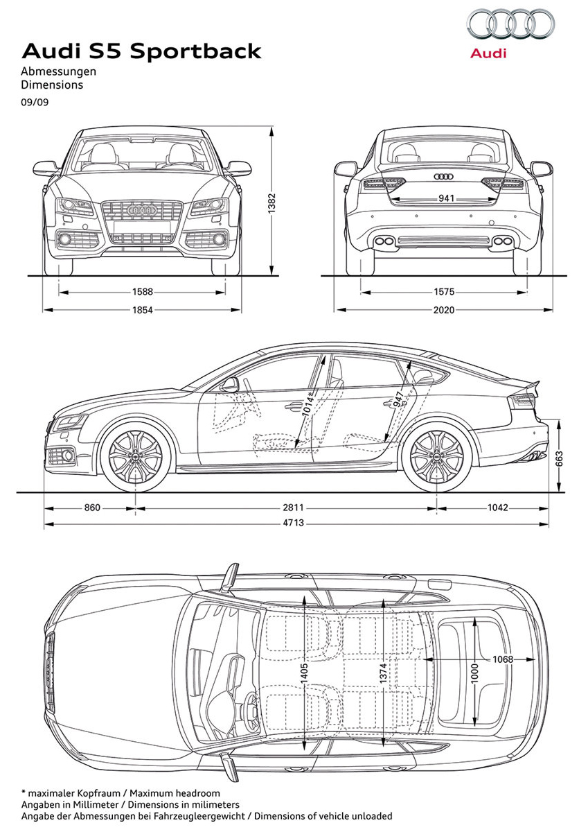 Car Blueprints And Free 3d Models August 2011