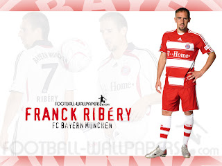 Franck Ribery Bayern Munich Wallpaper 2011 1