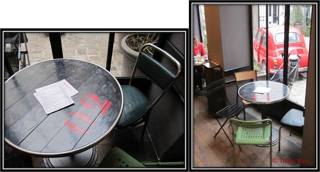 Salon de thé Merci concept store equitable Paris