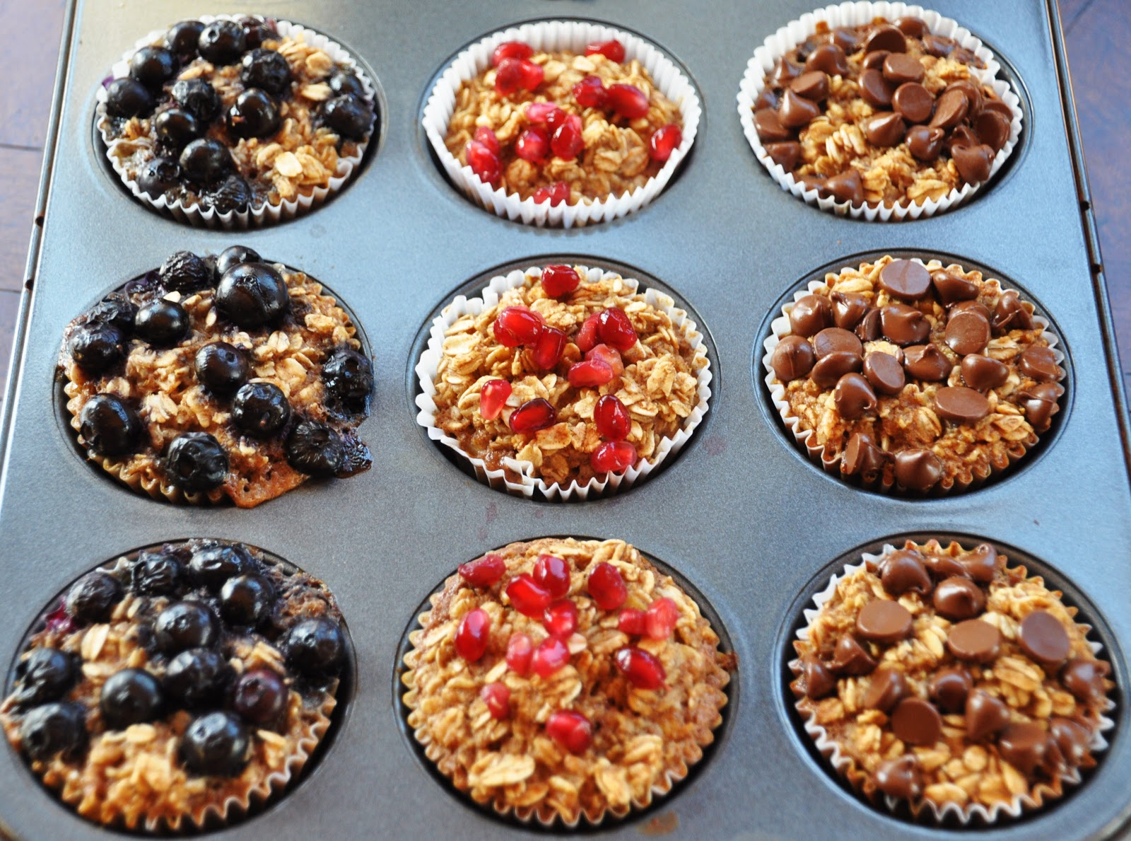 LA GRAHAM: INDIVIDUAL BAKED OATMEAL CUPS- CLEAN EATING