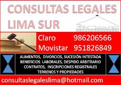 CONSULTAS LEGALES PERU