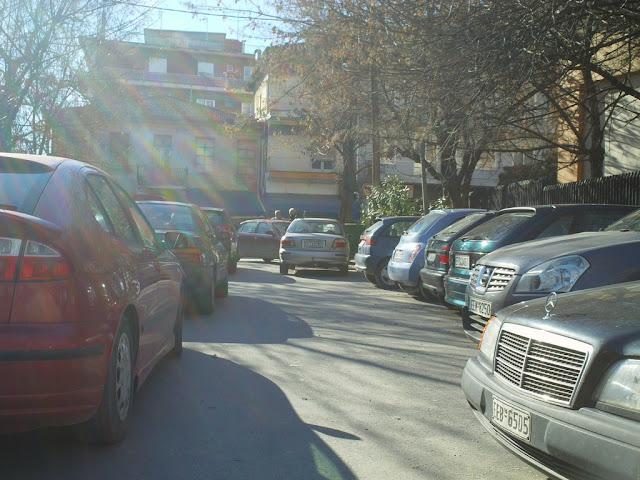 Έδεσσα parking νομαρχίας