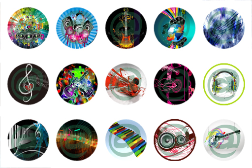 unique bottle cap designs music bottle cap image ForCool Bottle Cap Designs