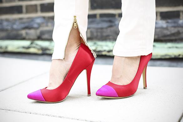 Soft Pink Zara Jeans
