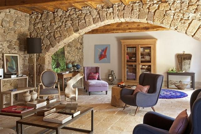 Vicky 39 s home casa tradicional en la toscana traditional - Interior de casas rusticas ...