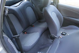 Ford Puma interior space