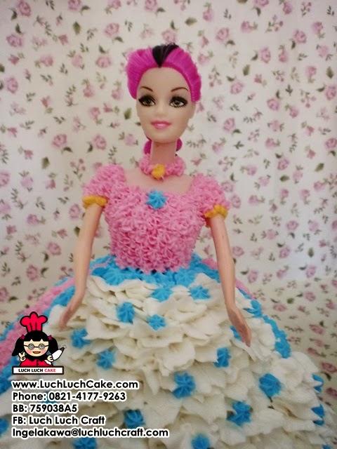 kue ulang tahun princess barbie