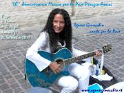 Agnese Ginocchio canta per la Pace alla 50° Marcia Perugia - Assisi