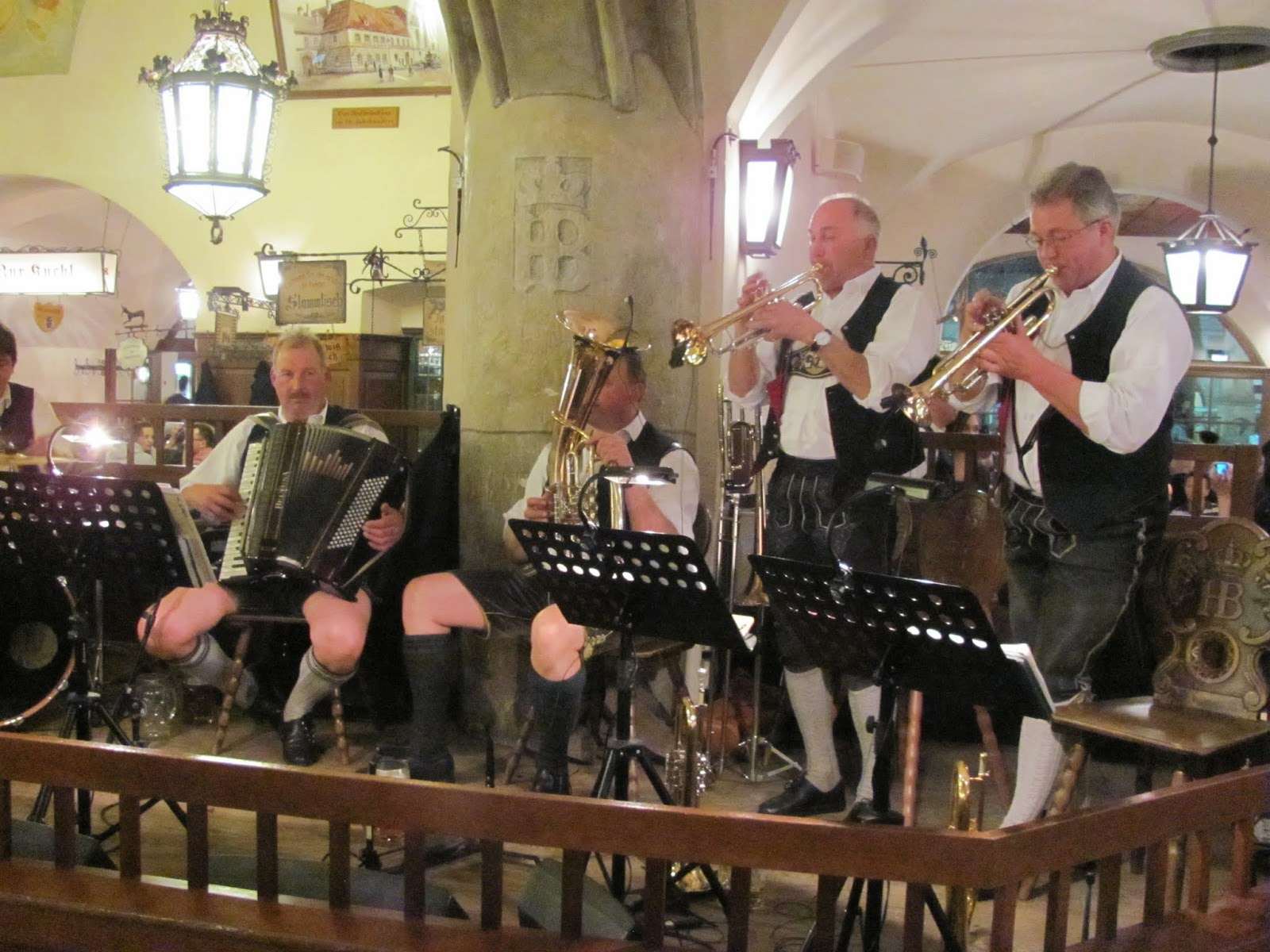 Beer Hall Band Hofbrauhaus Munich