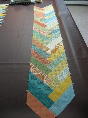 Prayer Flag Friendship Braid Quilt ~ Getting Started