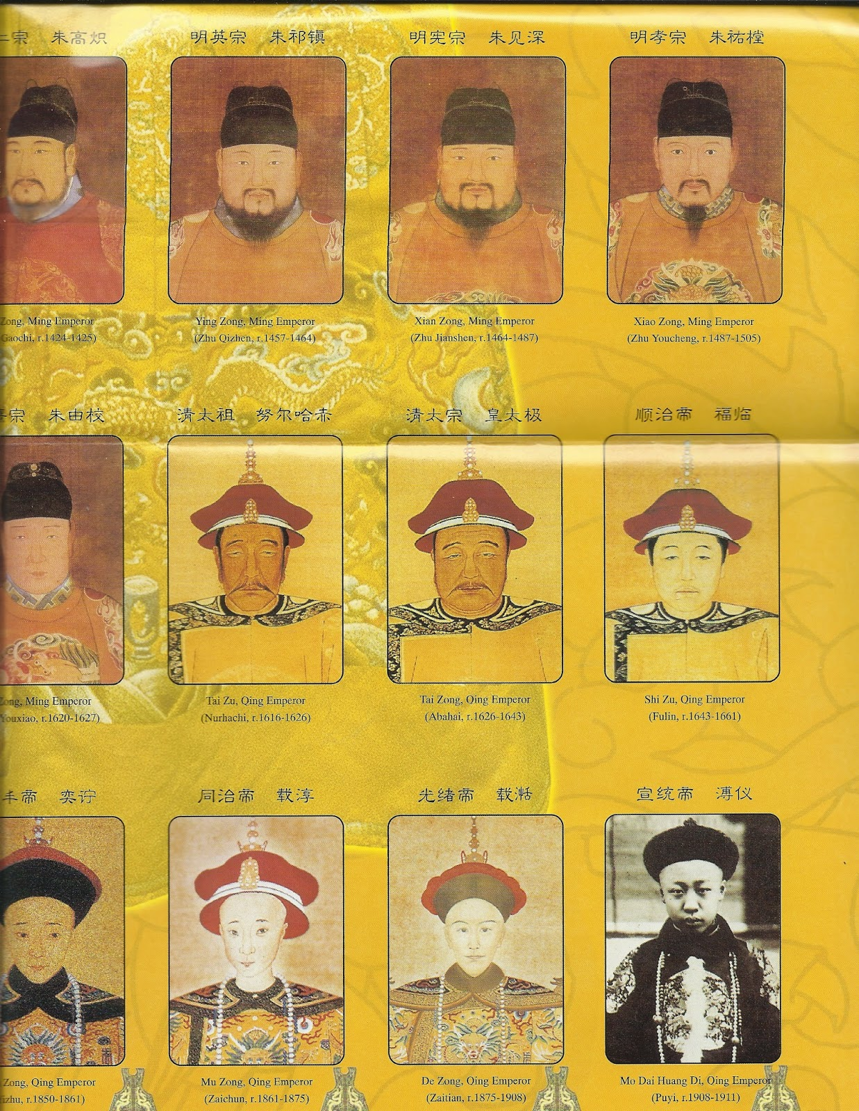 ruling dynasties of china essay Read this history other essay and over 88,000 other research documents ming dynasty the chinese empire was large and controlled most of asia at one point in time.