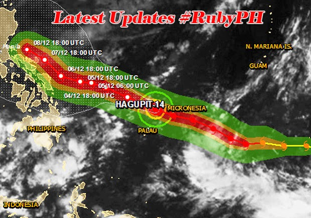 Latest News Update Typhoon Ruby Intensifies Storm Provincial Signal List