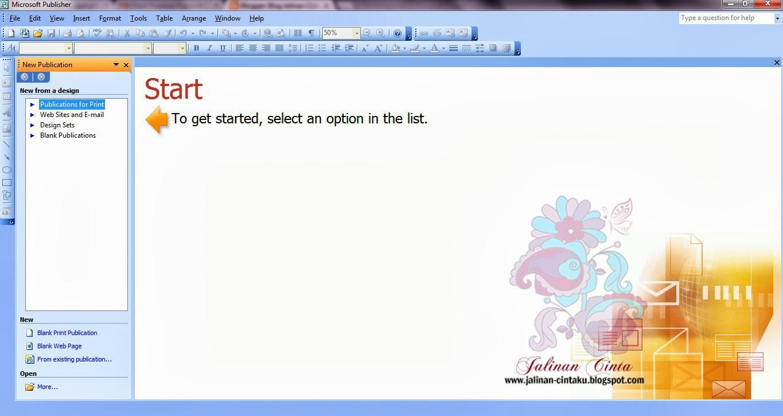 Diy Kad Jemputan Perkahwinan Dengan Publisher Bie Mohd Dot Com