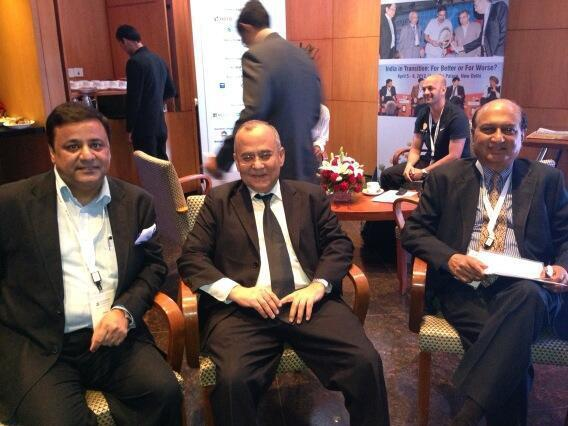 sandeep soni with Mr.Salman Bashir and Mr. G. Parthasarathy