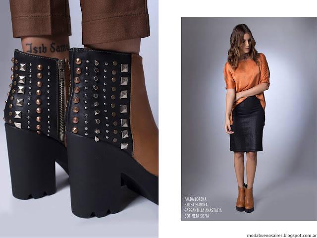 La Cofradía otoño invierno 2016. Moda invierno 2016 botas.