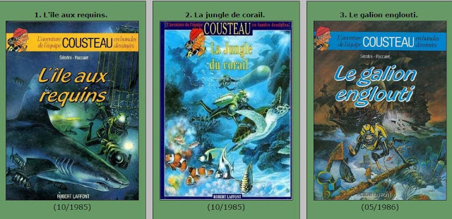 Nouveaux liens: L'aventure de l'équipe Cousteau
