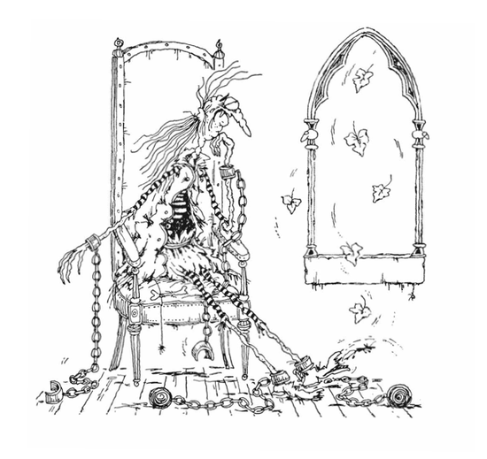 """""""The Canterville Ghost"""" by Oski"""