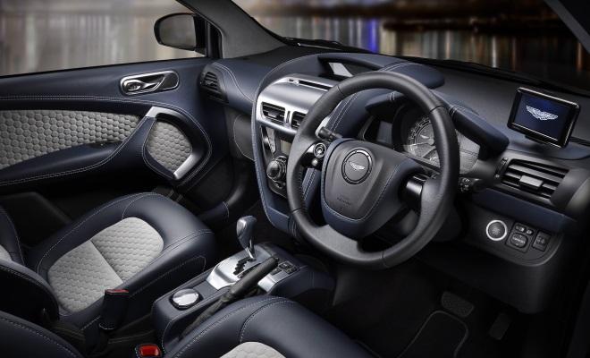 Aston Cygnet interior