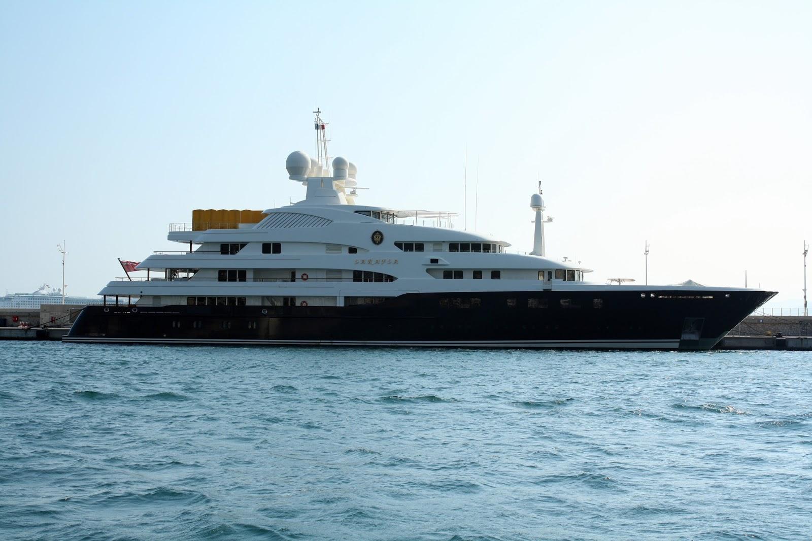 Superyacht SARAFSA