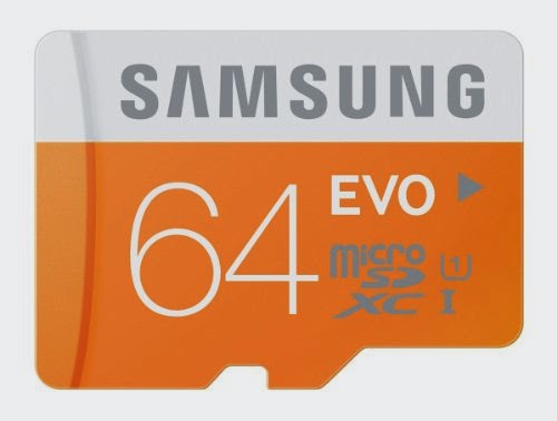 Samsung 64GB EVO Class 10 Micro SDXC for Samsung Galaxy Note 4 & Note Edge