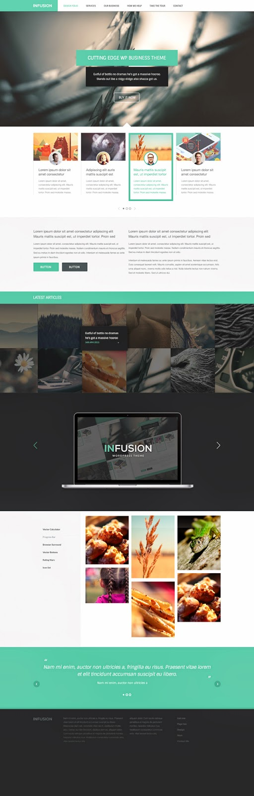 Free PSD Website Template