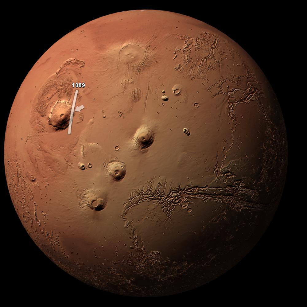planet mars olympus mons - photo #18