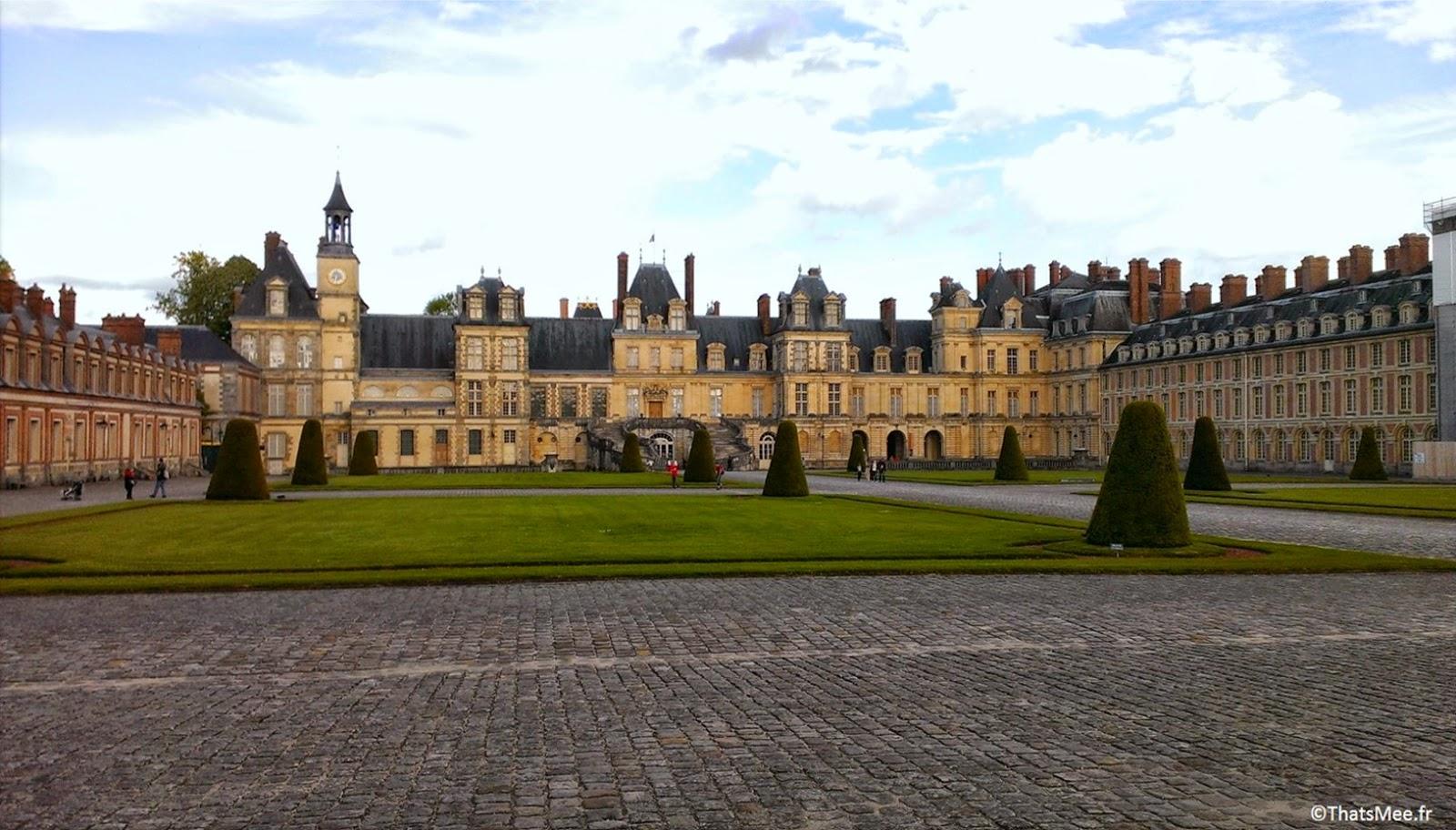Entrée principale du Château de Fontainebleau