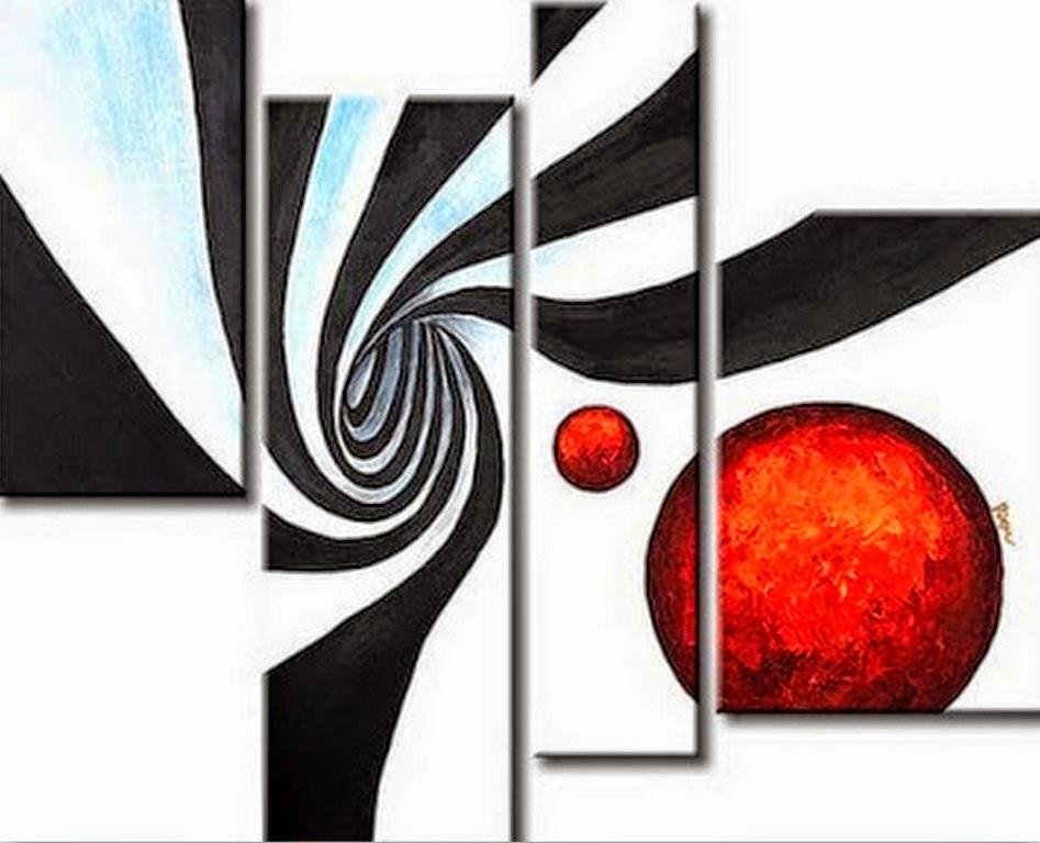 Cuadros modernos pinturas y dibujos 20 cuadros decorativos modernos para living - Como pintar cuadros faciles ...