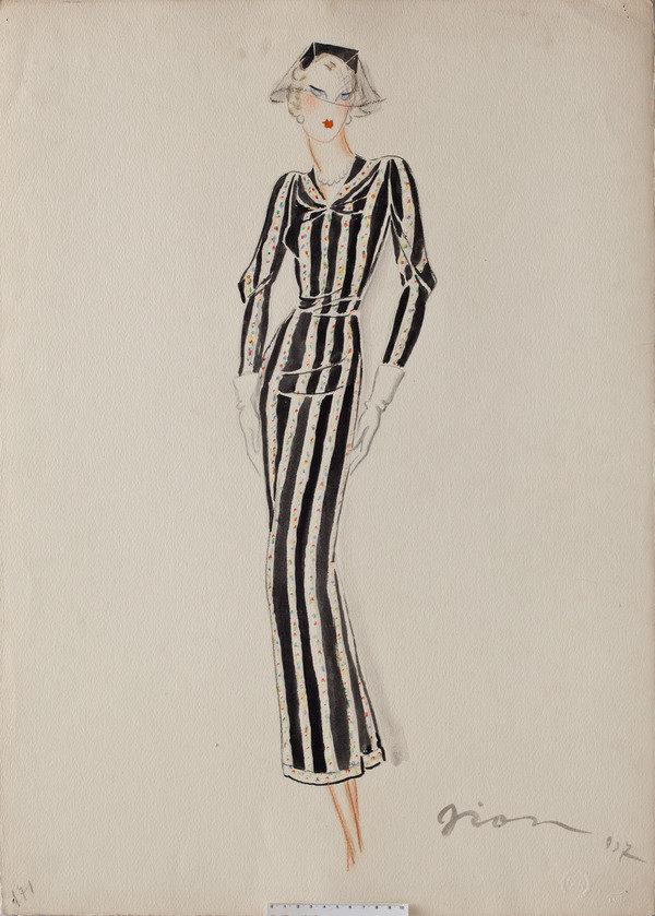 abbastanza La Vie C'est Chic: LEISURE_La moda degli anni '30 nei disegni di  YF84