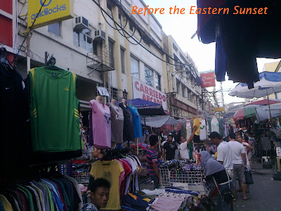 Carriedo Street - street vendors