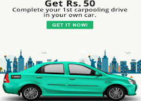 Complete Your Ride And Get Rs. 50 Paytm Cashback Via Meru cabs :buytoearn