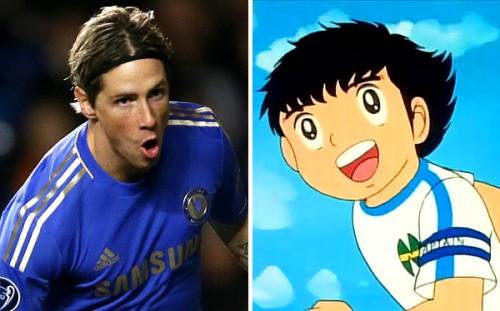 Fernando Torres quería ser como 'Oliver Atom'