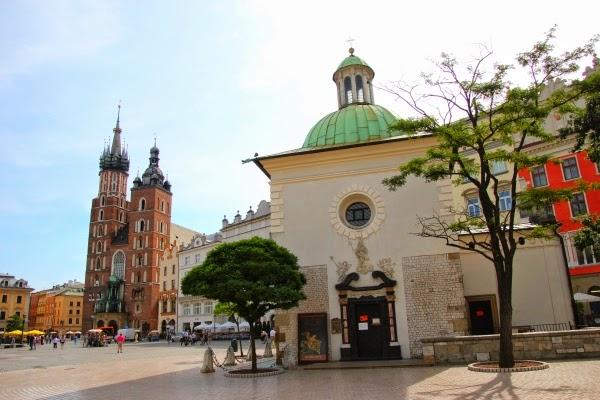 Kraków Kościół Wojciecha