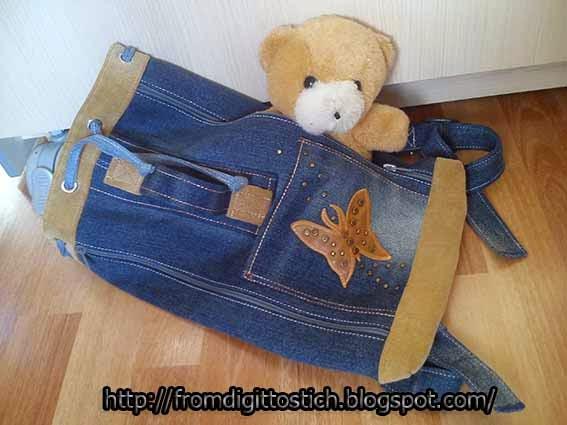 переделки из джинса
