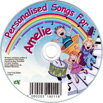 Personalised Songs for Amelie