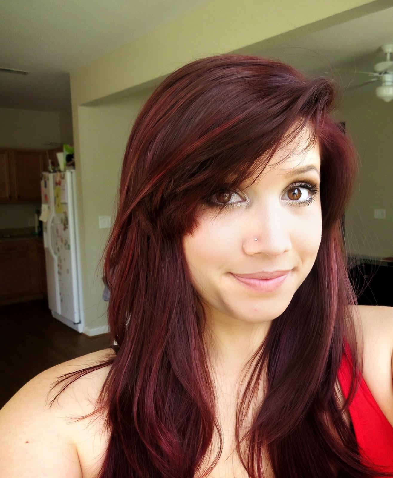 Garnier Dark Brown Hair Color Review