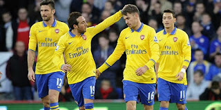 Video Gol Cardiff City vs Arsenal 30 Desember 2013