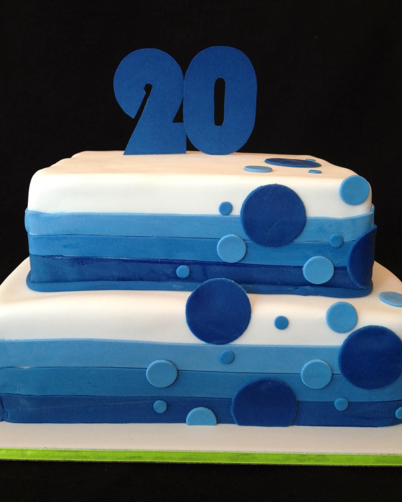 Tys 20th Birthday Cake