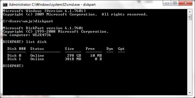 Backup dulu file yang ada di flashdisk karena semuanya akan hilang ...
