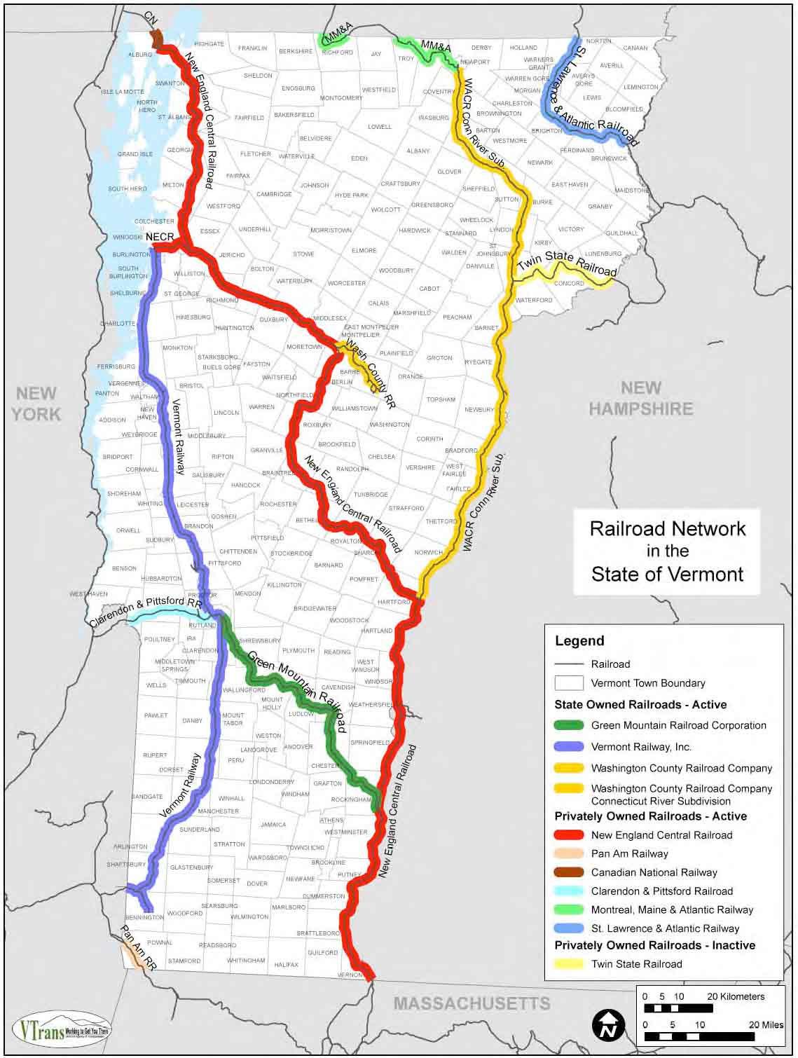 New England Central Corridor