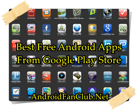 fun free android tablet apps