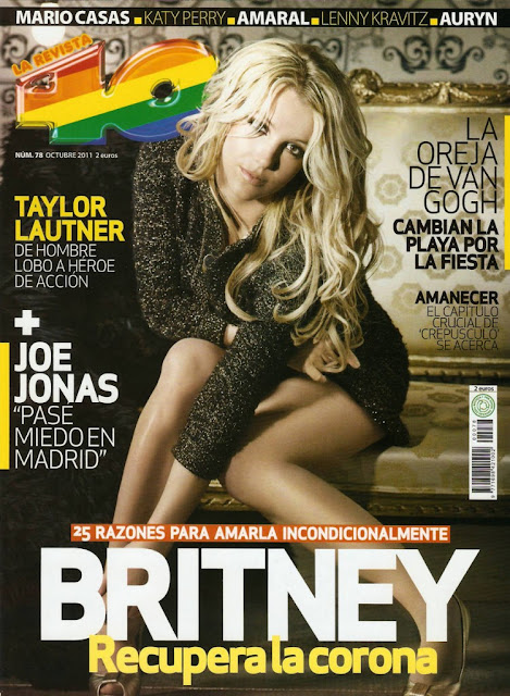 Britney Spears 40 Magazine Spain October 2011