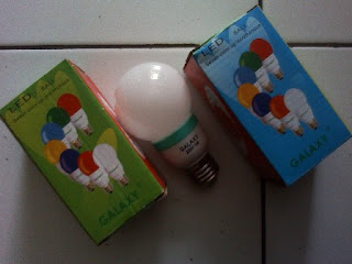 lampu led 7 warna