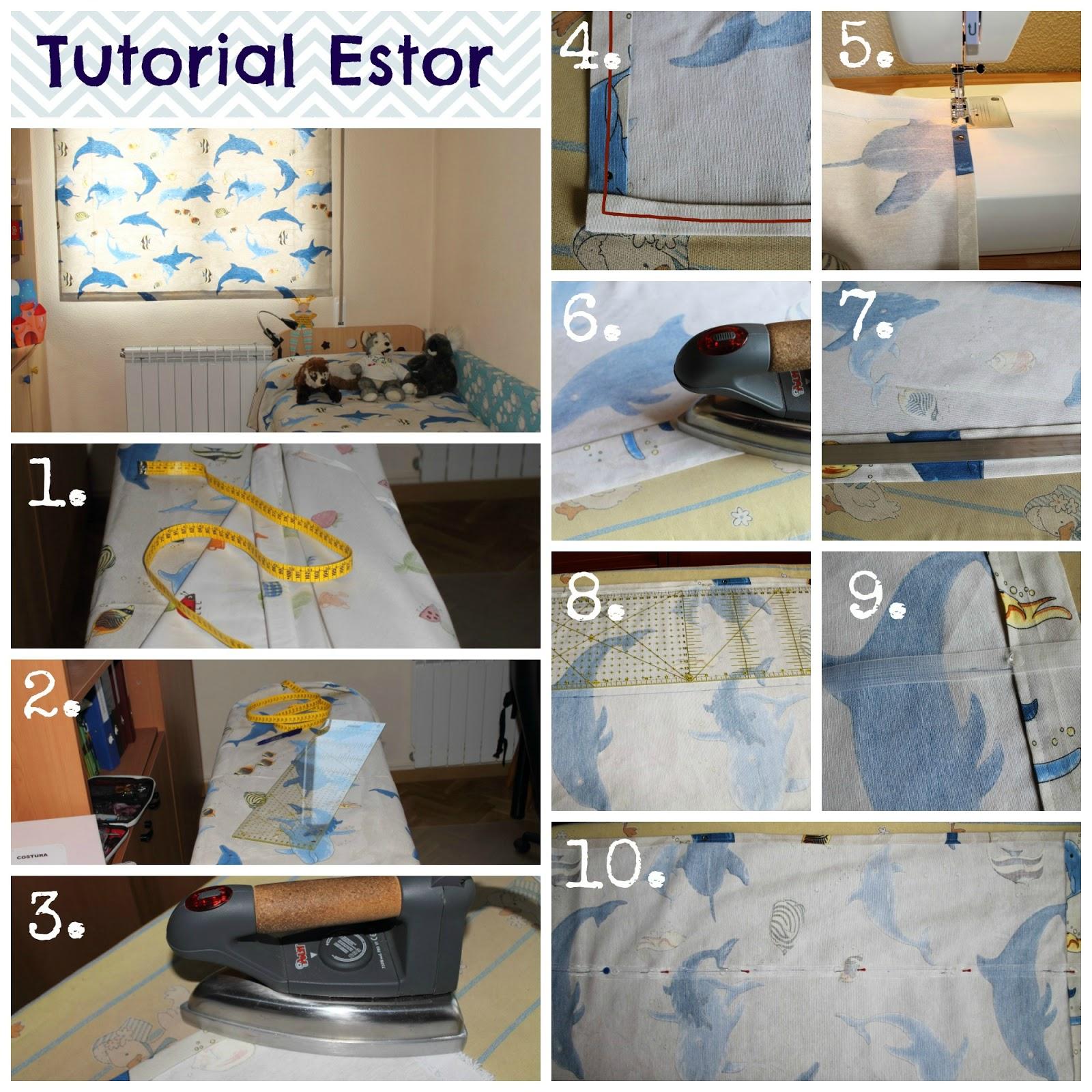 tutorial como hacer un estor